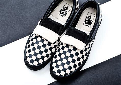 n hoolywood vans slip on checkerboard sneakernews
