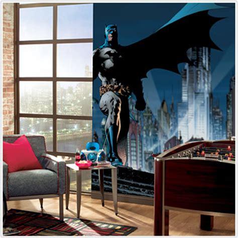 gotham city wall mural batman city mural jl1067m roommates