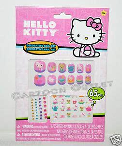 sanrio  kitty nail art  pcs press  nails nail
