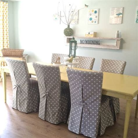 slipcovers for dining room chair seats 25 best ideas about dining chair slipcovers on pinterest
