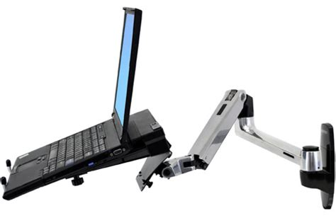 wall mount swing arm laptop stand wall mount laptop arm ergodirect ed llxw