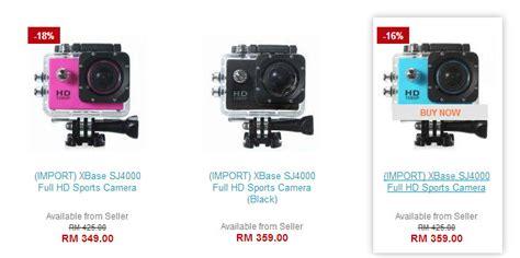 Gopro Xiaomi Yang Paling Murah kamera sj4000 alternatif gopro yang lebih murah ahmadfaizal