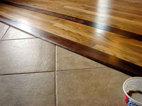 ceramic tile and hardwood floor combinations     Do You