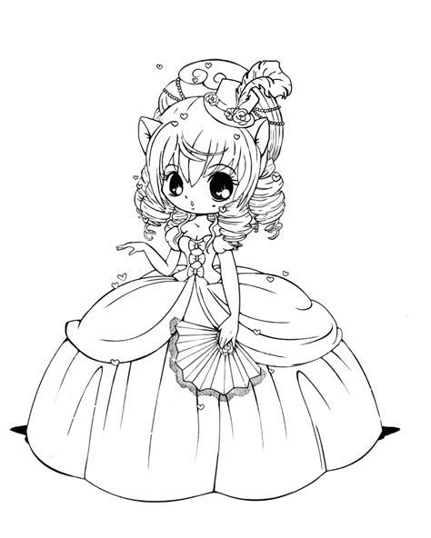 kawaii girl coloring pages free coloring pages of cute girls