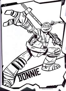 donatello coloring pages coloring home