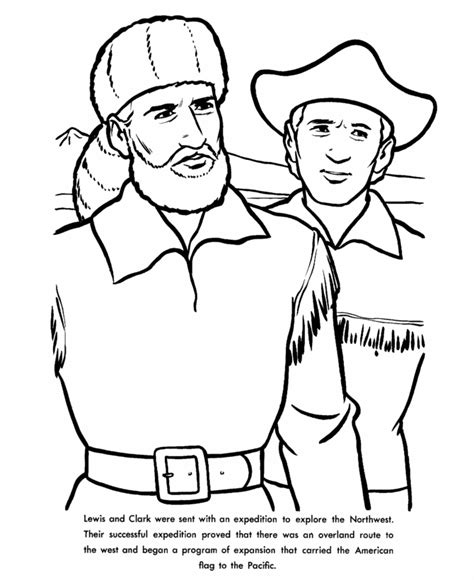 free lewis and clark printable worksheets and coloring usa printables the lewis and clark expedition us