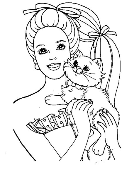 barbie coloring pages coloring pages wallpapers