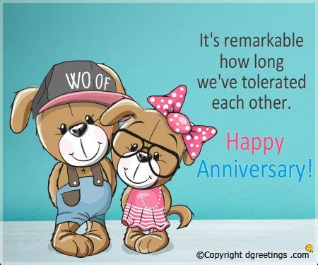 Funny Anniversary Quotes, Humorous Anniversary Quote for