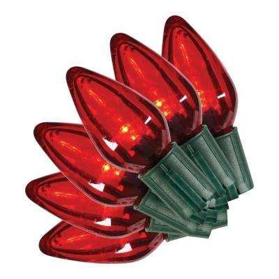ecosmart 150 light led c6 multi color string light set c7 c9 c6 led lights