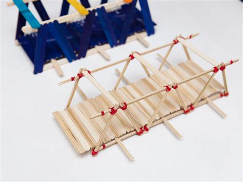 How To Build A Small Home how to build a model bridge out of skewers 11 steps