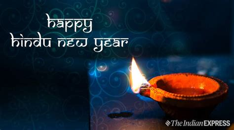 happy hindu  year  wishes images quotes status wallpaper sms messages  pics