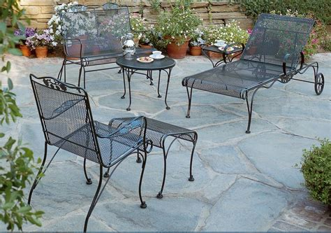 iron wrought patio furniture advice on how you can clean your wrought iron patio