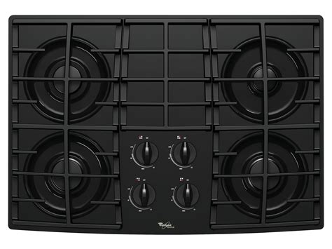 whirlpool gas cooktop 30 whirlpool glt3057rb 30 quot gas cooktop with sealed burners