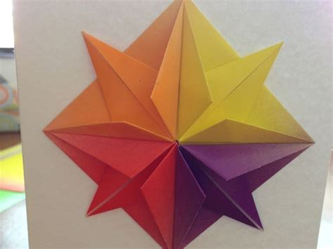 How To Make Origami Birthday Cards - origami greeting card