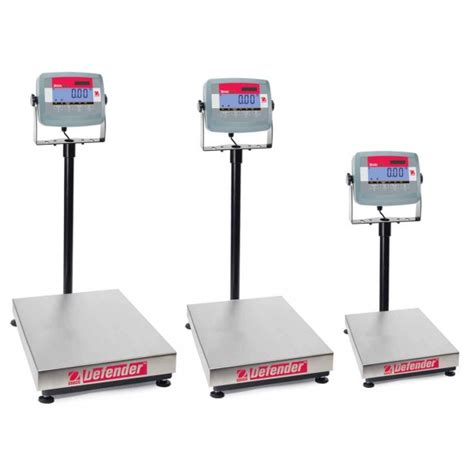 ohaus bench scale ohaus defender 3000 standard series bench scale