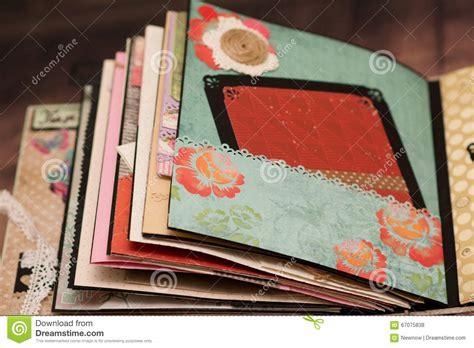 Scrapbook Handmade - scrapbook handmade stock photo image 67075838