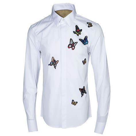 design embroidery shirts aliexpress com buy butterfly embroidery men shirt 2017