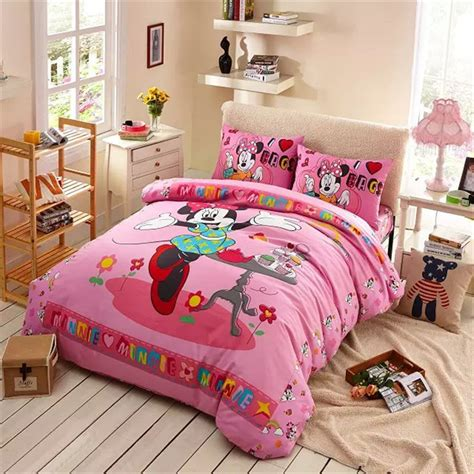cheap twin bedding sweet cakes minnie mouse bed set girl baby bedding cheap