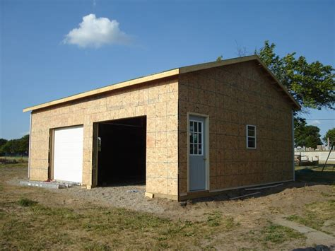 garage barn 24 x 30 pole barn garage hicksville ohio