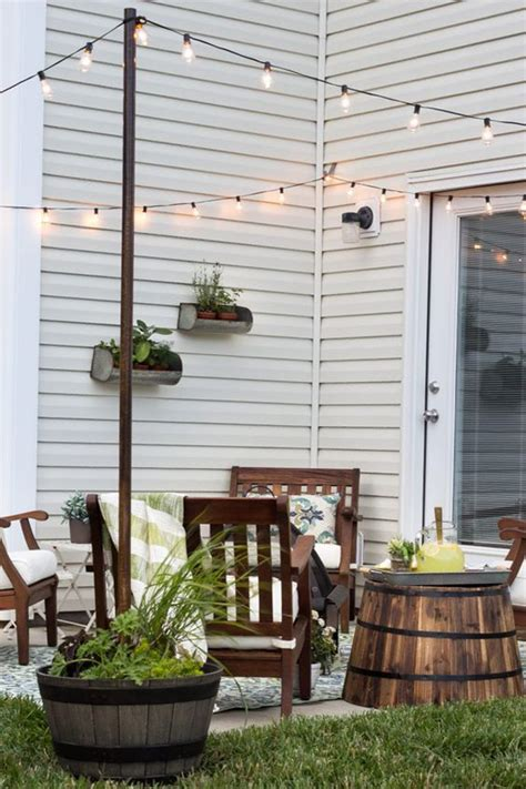 how to decorate a small house with no money 20 amazing string lights for your outdoor patio home