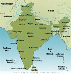 Map Of India Cities by India Map