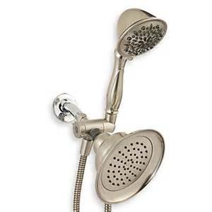 buy delta six spray combo showerhead in satin nickel from