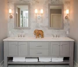 Bathroom Dual Sink Vanity 17 Best Ideas About Gray Bathroom Vanities On Pinterest
