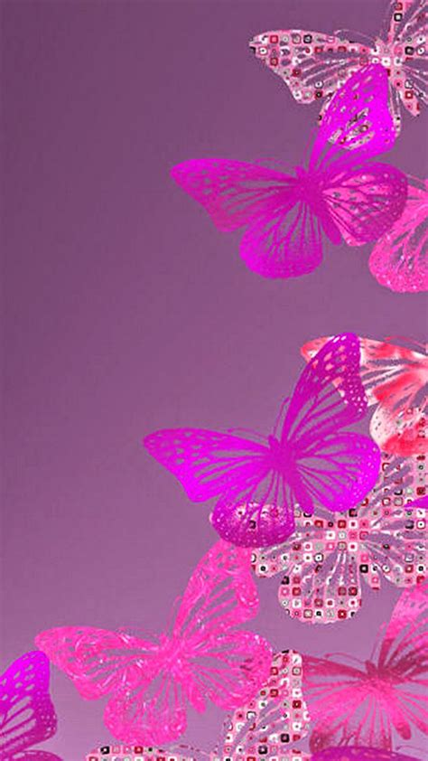 wallpaper pink iphone 6 free wallpaper phone iphone 6 plus pink butterfly wallpapers