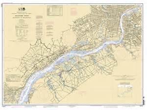 delaware river wilmington to philadelphia nautical chart
