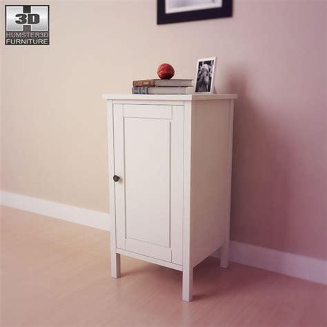 bedroom table ls ikea 3d models ikea hemnes bedside table 2 3d model 3docean