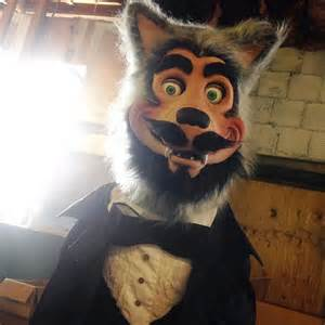 Wolfpack 5 show wolfman animatronic read story by freddyfredbear