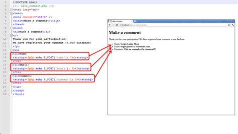 comments html template web programming with php 17 exle of getting data from