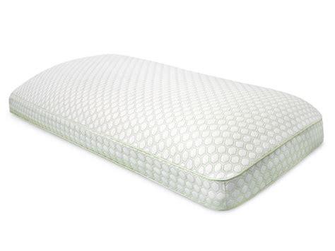 King Size Memory Foam Gel Pillow by Sensorpedic Gel Infused Gusseted Memory Foam Pillow 3 Sizes