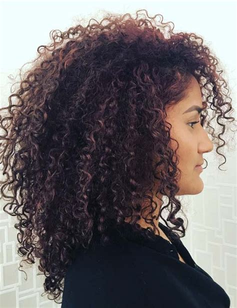 different hairstyles for short layered kinky curly hair 20 amazing layered hairstyles for curly hair