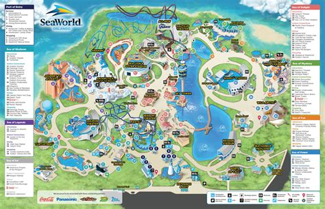 Where To Buy Sea World Gift Cards - park map seaworld orlando