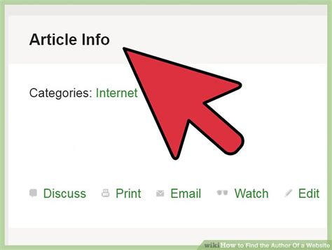 How To Find On The Web How To Find The Author Of A Website 14 Steps With Pictures