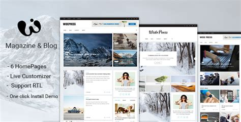 themeforest blog wide v1 0 1 magazine blog wordpress themes themeforest