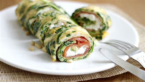 cottage cheese omelette spinazie omelet met zalm en cottage cheese cotton