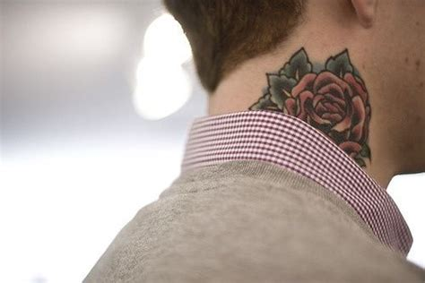 getting a tattoo on your neck neck tattoo designs for men mens neck tattoo ideas