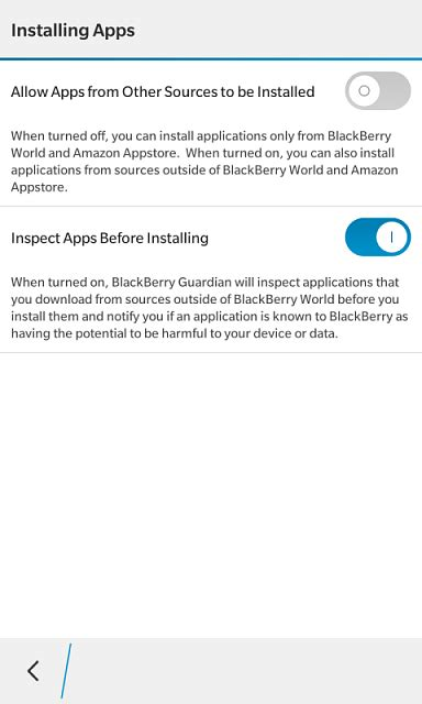 i can t install account manager blackberry