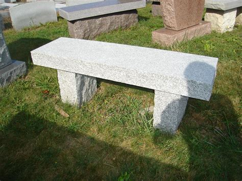 memorial benches cost granite benches richardson monument co inc