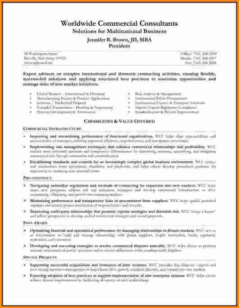 Resume Summary Statement Accounting 7 Resume Profile Statement Authorization Letter