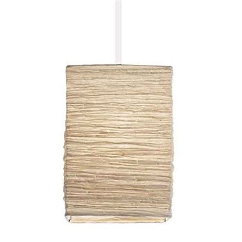 Rice Paper Pendant Light Asian Rice Paper Lantern Pendant L Shade Kit With 15 5 In Light Socket Cord White