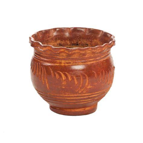 Azalea Terra Cotta Planter by Pennington 8 In Terra Cotta Clay Azalea Pot 100043027