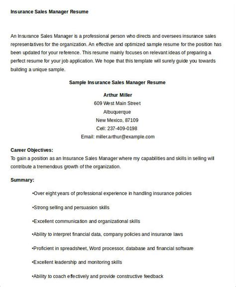 sales resume template 24 free word pdf documents
