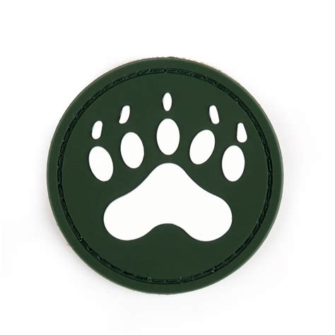 Patches Blackwater Tracker blackwater tracker paw 3d pvc rubber abzeichen