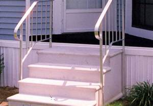mobile home stairs for aluminum stairs for mobile homes mobile homes ideas