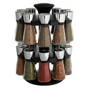 buy spice rack buy cole hudson 20 jar filled spice carousel