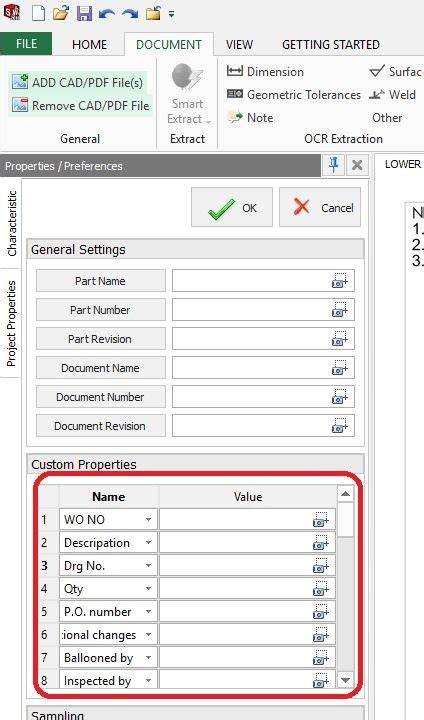 customizing project templates customize project template in solidworks inspection
