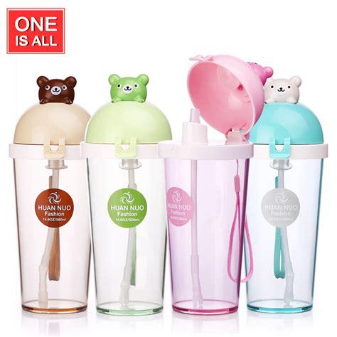 Water Bottle With Straw Animal Mixer aliexpress buy water bottle kid bickiepegs baby animal water bottle